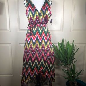 INC International Concepts Chevron Print Dress